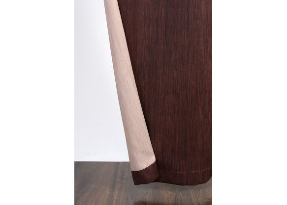 Ralf Dimout obojstranný záves 150 cm 146-camel