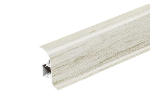 Soklová Lišta Salag Flexi PVC javor patina