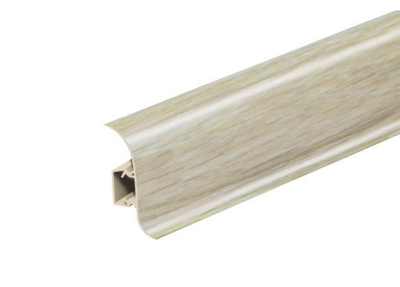 AP28 Soklová Lišta Salag Flexi PVC dub pískový