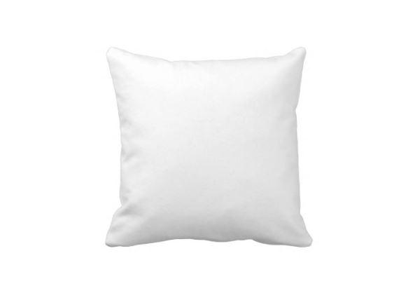 Výplň polštář 40x40cm bílá