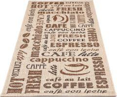 Kusový koberec do kuchyně Sisalo Drinks 80x200 cm