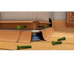 Soklová Lišta Salag Flexi PVC tasmánske dřevo