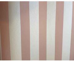 Tapeta Joy Stripes Papír rose