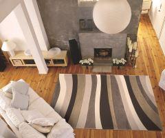 Koberec Moderno Stripe Beige-Cream 80x150cm