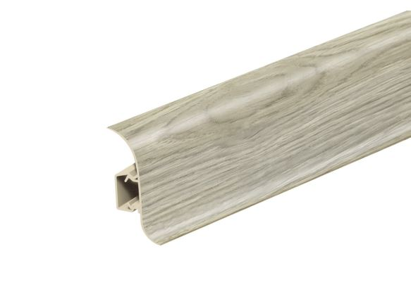 AP28 Soklová Lišta Salag Flexi PVC dub pouštní
