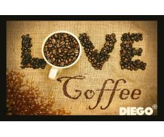 Rohožka Coffe Love 40x60cm