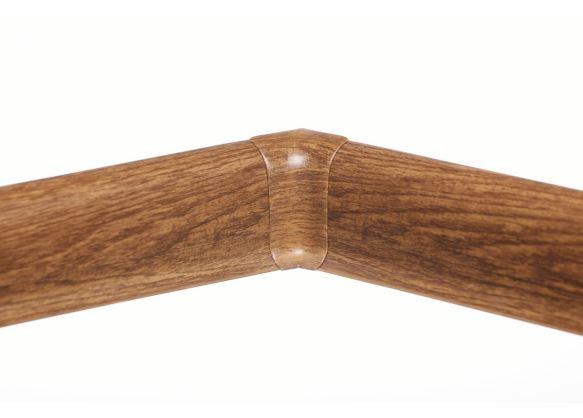Soklová Lišta AP30 Vnitřní Roh PVC dub Colorado