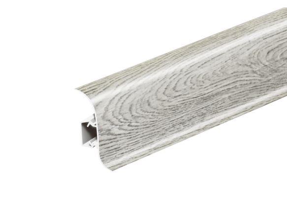 Soklová Lišta Salag Flexi PVC břidlice wood