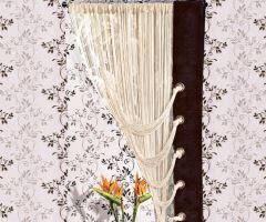 Záclona Delux Hotová Špagetová béžová