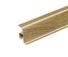 Soklová Lišta Salag Flexi PVC dub tmavý