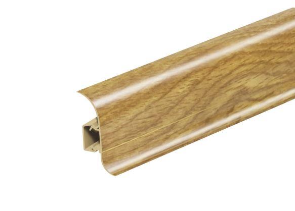 AP28 Soklová Lišta Salag Flexi PVC dub Aljaška