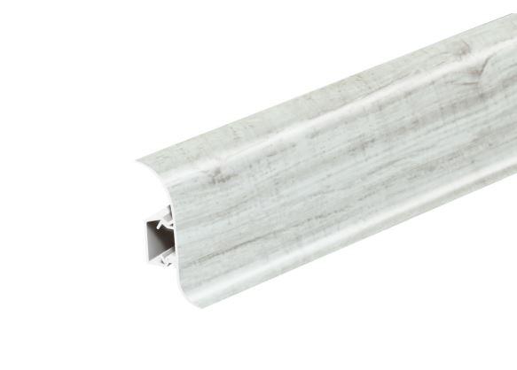 AP28 Soklová Lišta Salag Flexi PVC dub rustikální bílá