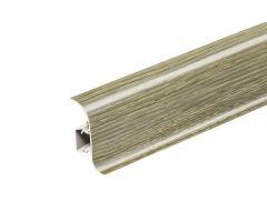 AP28 Soklová Lišta Salag Flexi PVC dub šedý
