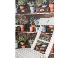 Tapeta Inspiration Garden Vlies s buničitým vláknem multicolor