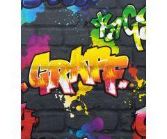 Tapeta Kids & Teens Graffiti Papír multicolor