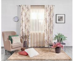 Carrara Záclona 300cm 6402-světlo greige