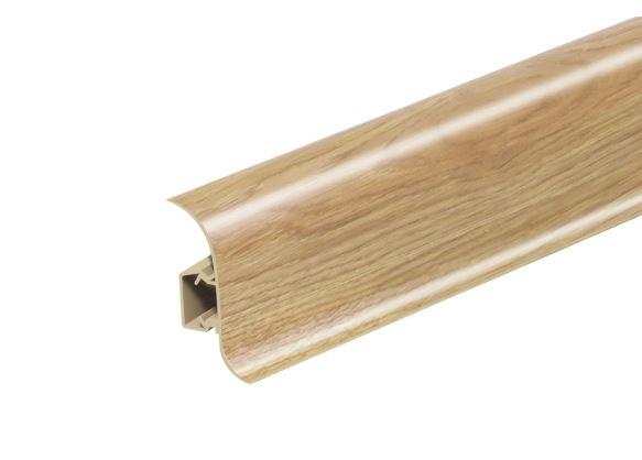 AP28 Soklová Lišta Salag Flexi PVC dub country světlý