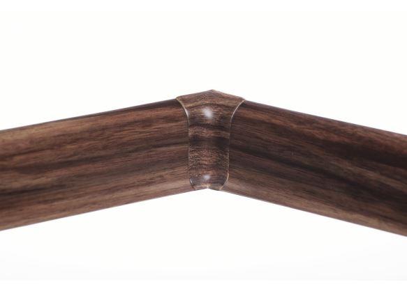 Soklová Lišta AP30 Vnitřní Roh PVC vlašský ořech