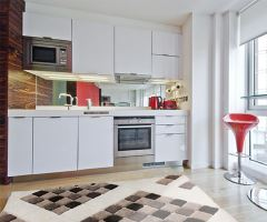 Luxusní kusový koberec Velour Plus 3D Cube White 120x170cm