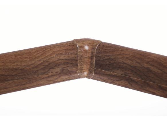 Soklová Lišta AP30 Vnitřní Roh PVC dub calvados