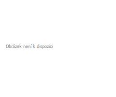 Záclona Rosina Batist vyšívaná hnědo-šedá