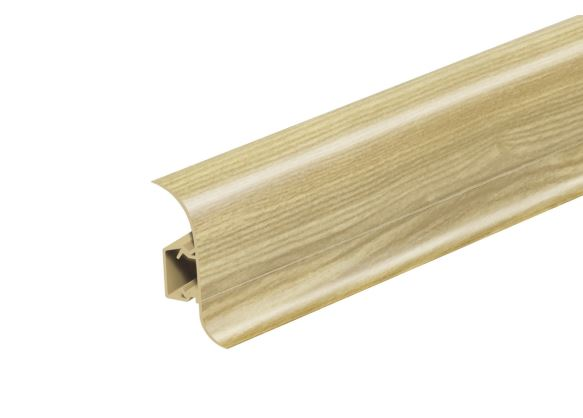 Soklová Lišta Salag Flexi PVC jilm