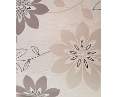 Tapeta Trend Art Flower Vlies s buničitým vláknem grey