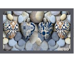 Rohožka Pebbles 50x80cm