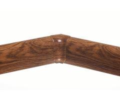 Soklová Lišta AP30 Vnitřní Roh PVC dub bažinatý