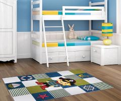 Dětský kusový koberec Kiddy Ocean Cream 120x170cm