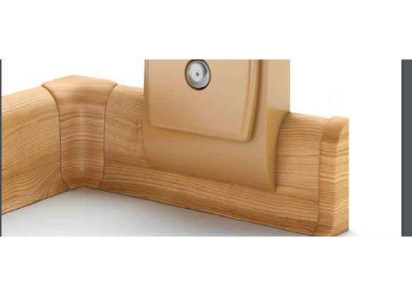 L+P k NG56,PVC dub ,balení obsahuje 1 pár koncovek  Smrk Stříbrný