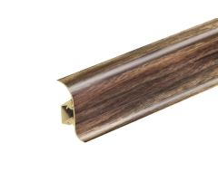 Soklová Lišta Salag Flexi PVC vlašský ořech