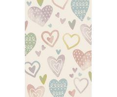 Dětský kusový koberec Kiddy Heart různé velikosti