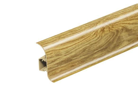 AP28 Soklová Lišta Salag Flexi PVC dub vinný