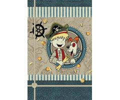 Dětský kusový koberec Kiddy Friend 160x230 cm