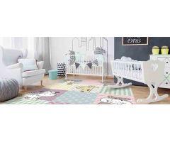 Dětský kusový koberec Kiddy Pastel různé velikosti