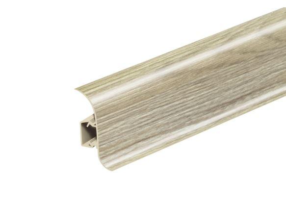 Soklová Lišta Salag Flexi PVC dub alsaský
