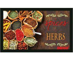 Rohožka Spices Herbs 50x80cm