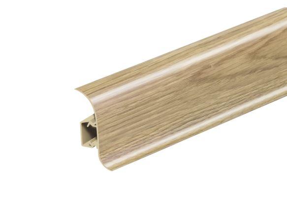 AP28 Soklová Lišta Salag Flexi PVC dub celtic