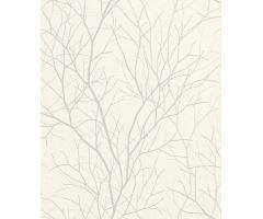 Tapeta Metropol Trees Vlies s buničitým vláknem white