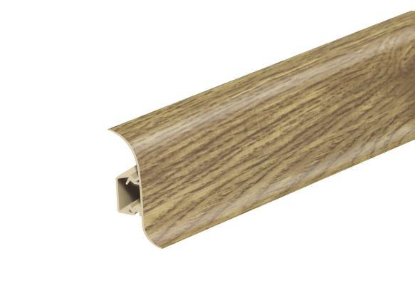 AP28 Soklová Lišta Salag Flexi PVC dub argos matný