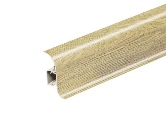 AP28 Soklová Lišta Salag Flexi PVC dub riviera