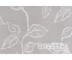 Wilden/140-112 off-white leaf patterned dekor curtain