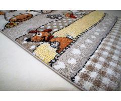 Dětský kusový koberec Kiddy Farm různé velikosti