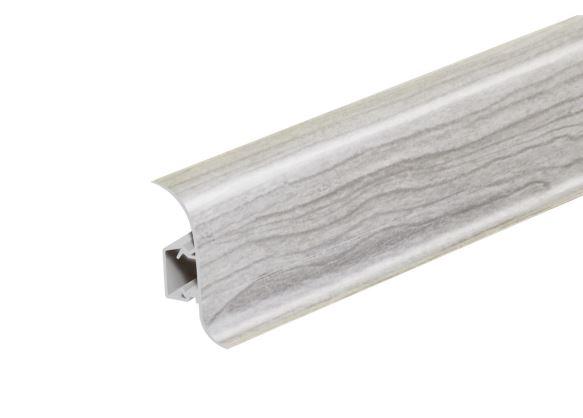 AP28 Soklová Lišta Salag Flexi PVC popelavě šedá