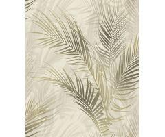 Tapeta Leaves Reed Vlies s buničitým vlánem beige