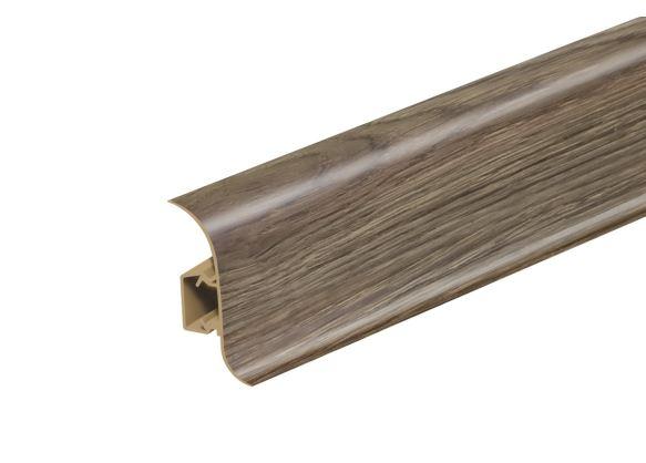 AP28 Soklová Lišta Salag Flexi PVC dub burbon černý