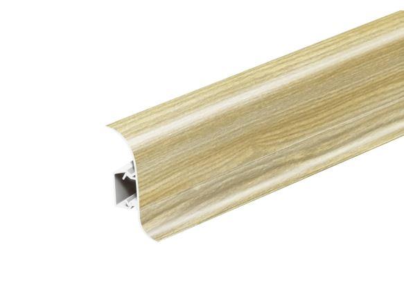 AP28 Soklová Lišta Salag Flexi PVC popelavě pastelový