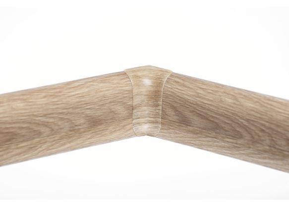 Soklová Lišta AP30 Vnitřní Roh PVC dub canyon